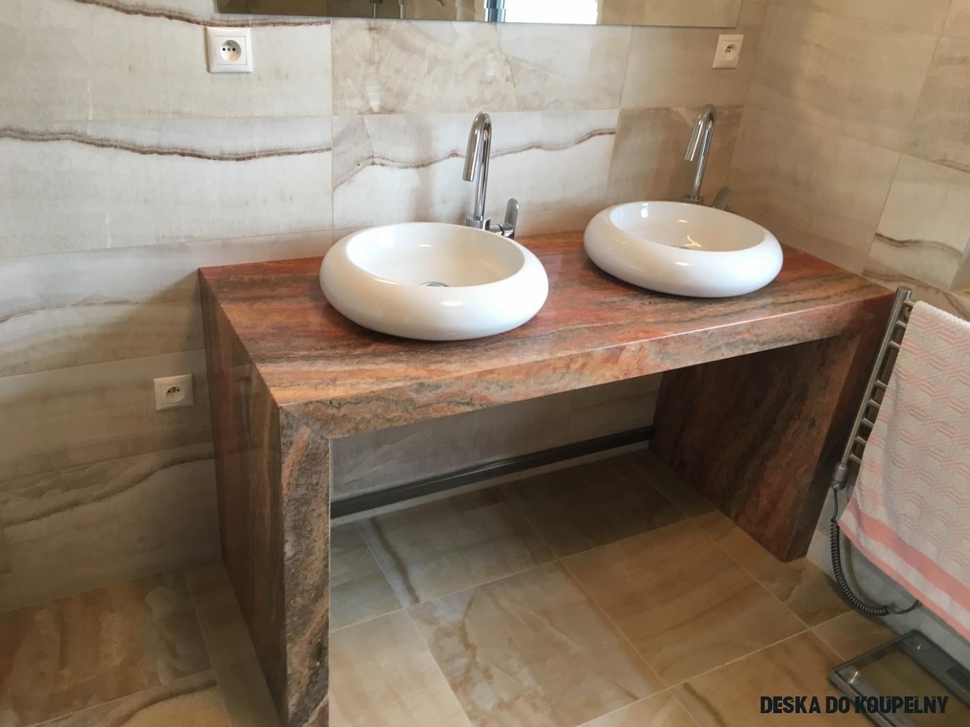 Kuchyňské a koupelnové desky z kamene - Kámen Pečky s.r.o.