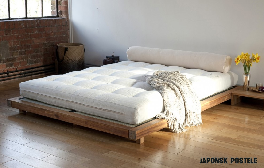 Spaní na zemi: Moderní postele přichází z Japonska - Inspiri