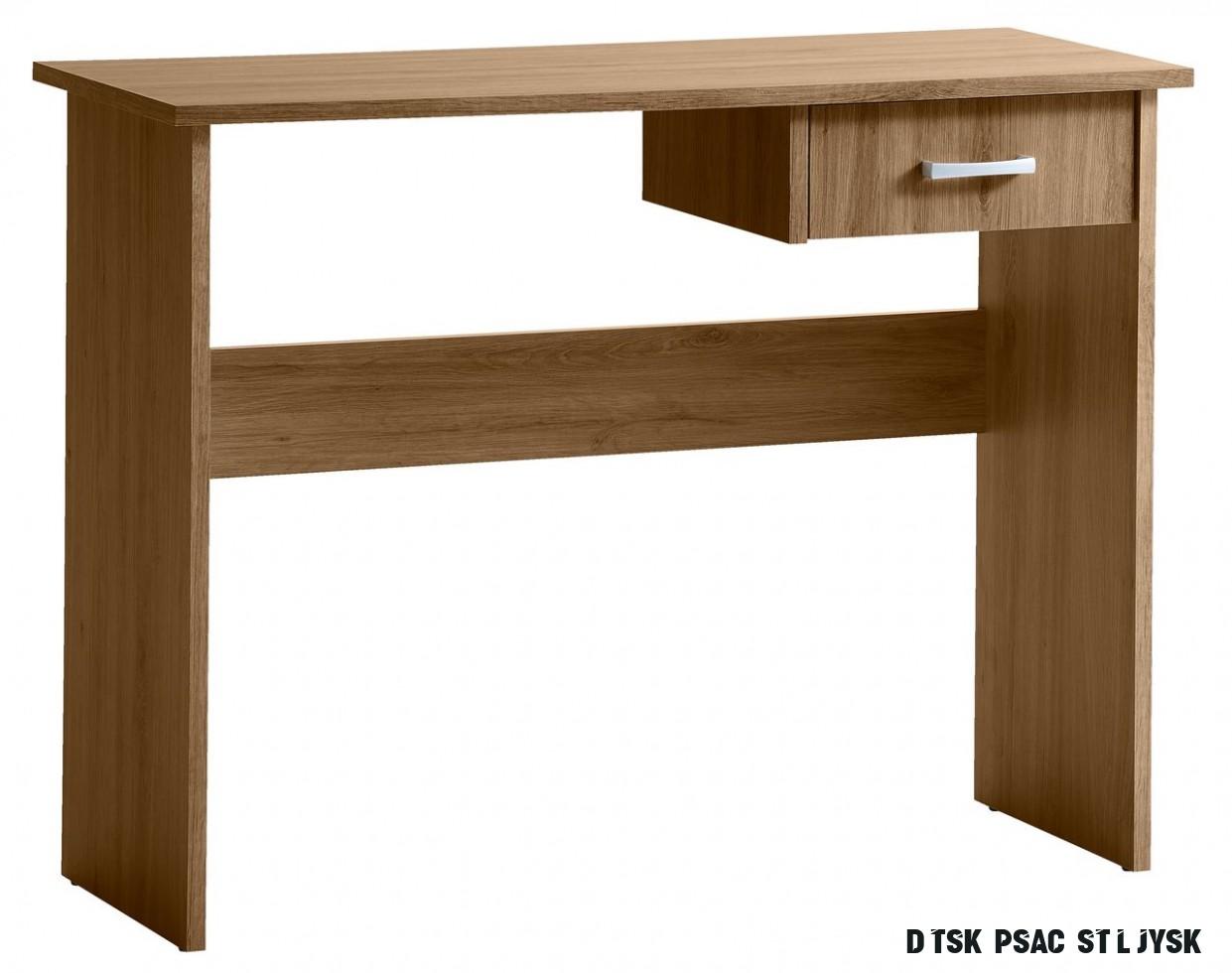 Psací stůl KARUP 17x17 divoký dub