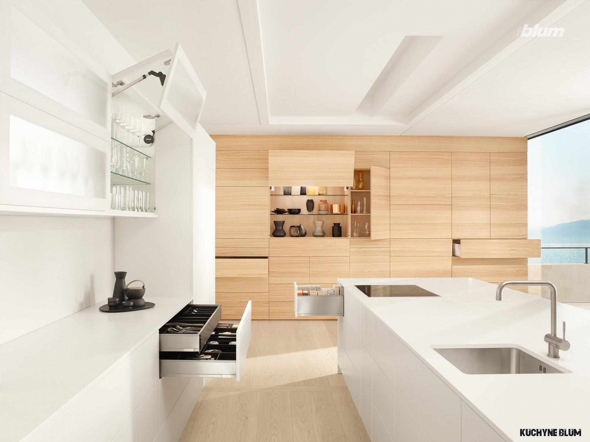 Minimalist, Scandinavian-style kitchen  Kitchen drawers, Buy
