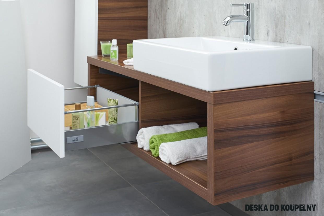 Trendy ze světa koupelen: Umyvadlo na desku - Dřevojas