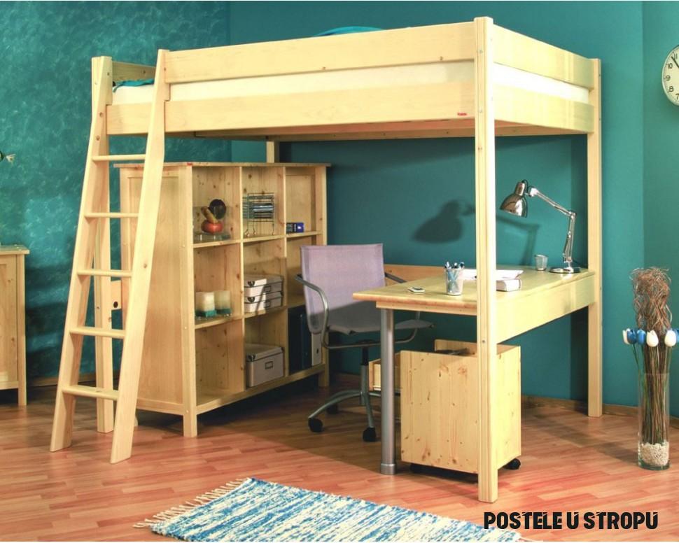 Kam umístit postel v malém bytě? Ke stropu! - Proženy