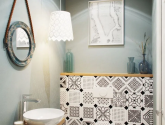 5 Úžasný Obrázek Inspirace pro Retro Koupelny