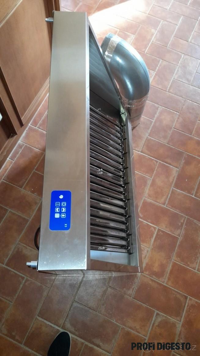 Prodám nepoužitou profi digestoř Marzorati Ventilazione
