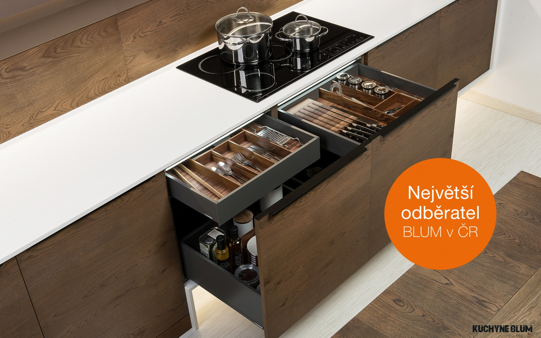 INNOVATIONS IN BLUM LEGRABOX DRAWERS in HANÁK KITCHENS  HANÁK NÁBYTEK