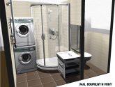 Úžasný Fotka Ideas z Malé Koupelny Návrhy