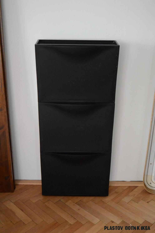 Daruji za odvoz černé plastové botníky ikea trones 19ks  VšezaOdvoz