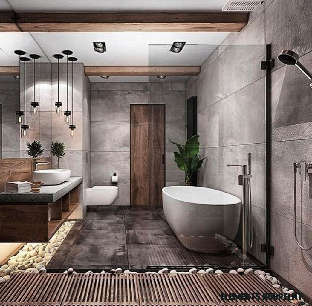When concrete, wood, and natural elements combine, something