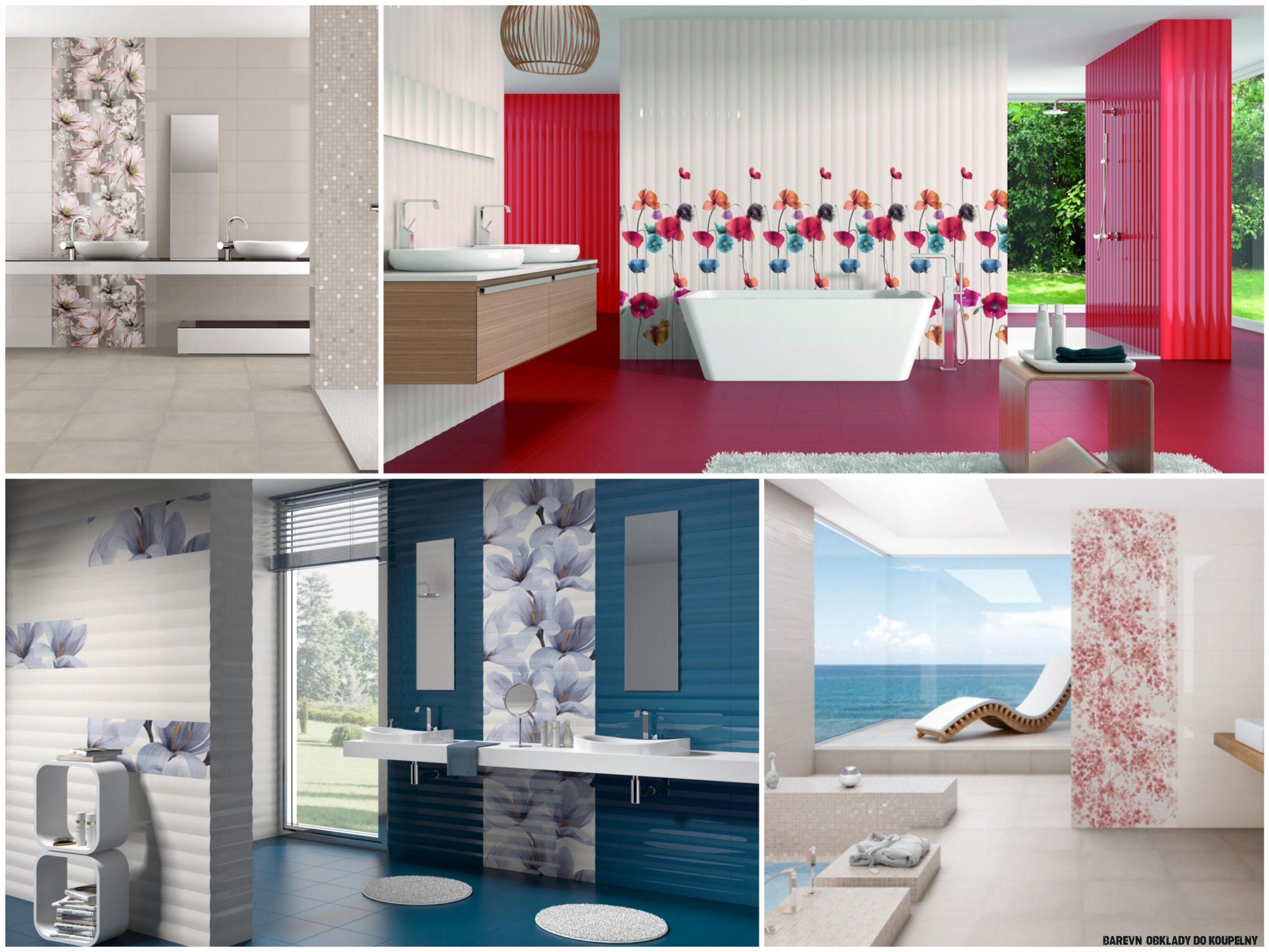 Jarní barevné inspirace pro koupelnu  M.B.Keramika