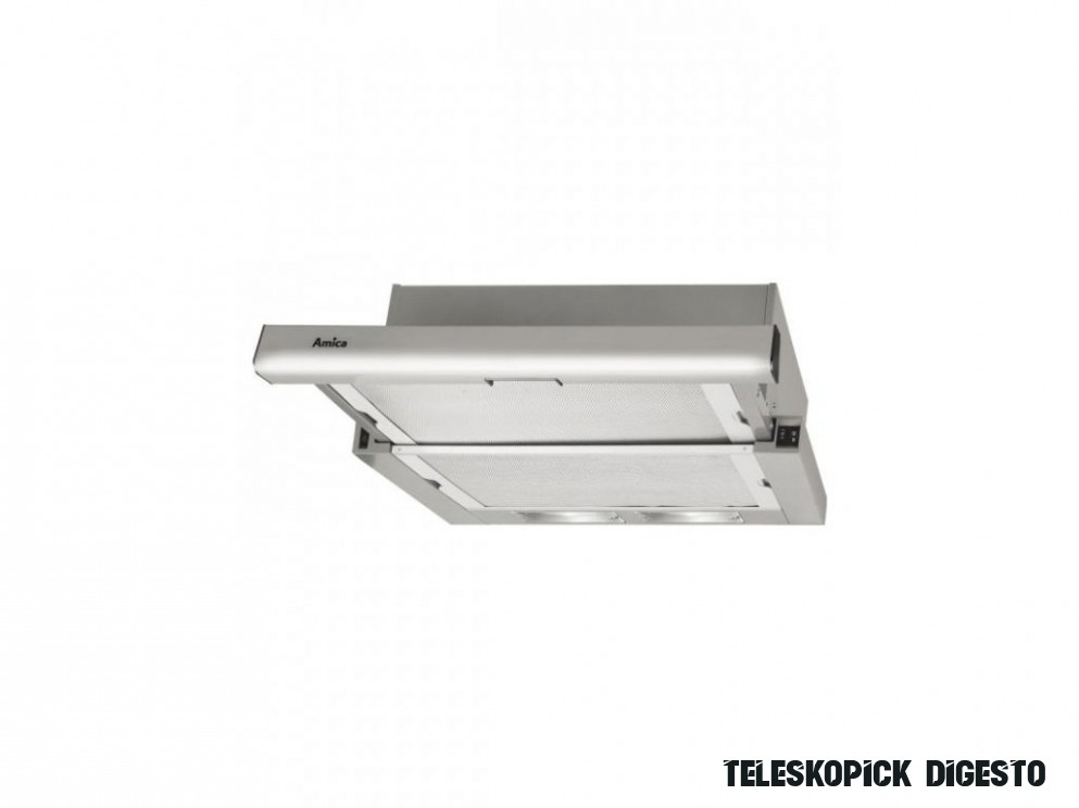 Teleskopická digestoř 15 cm Amica - LUSI nábytek