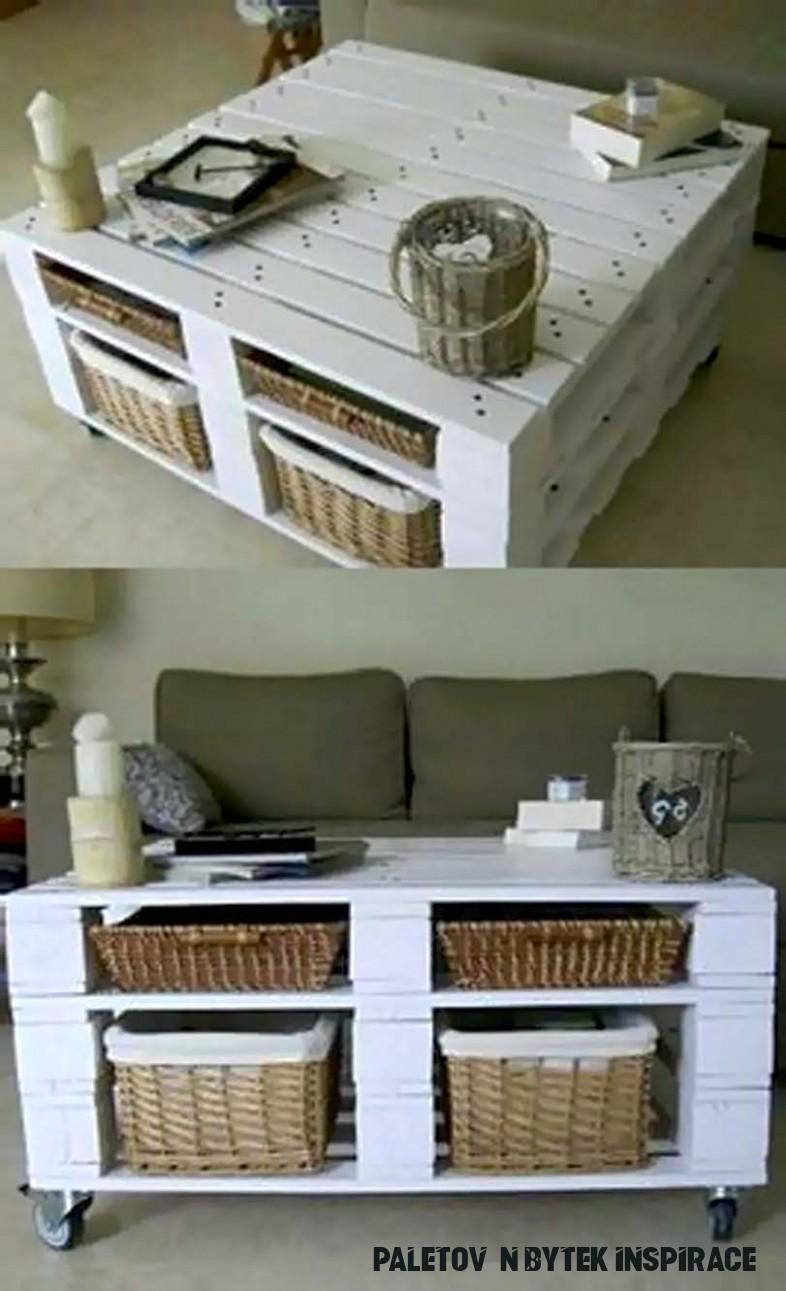 Paletový nábytek levně a stylově - inspirace, rady, fotogalerie