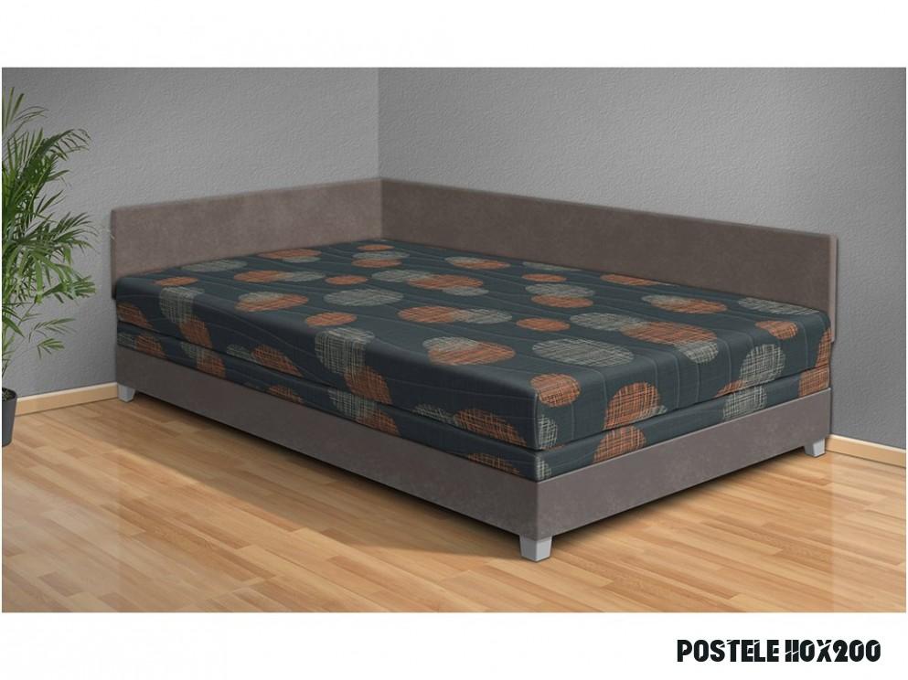 Čalúnená posteľ Aneta 11x11 cm