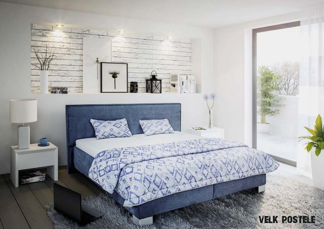 Moderní čalouněné dvoulůžko Oliver  Home decor, Furniture, Home