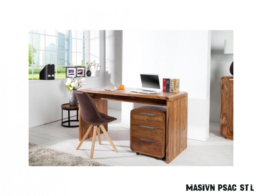 Masivní psací stůl - Jack