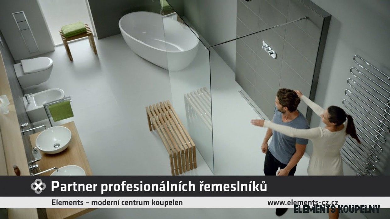 Elements - koupelnové studio - partner profesionálních řemeslníků