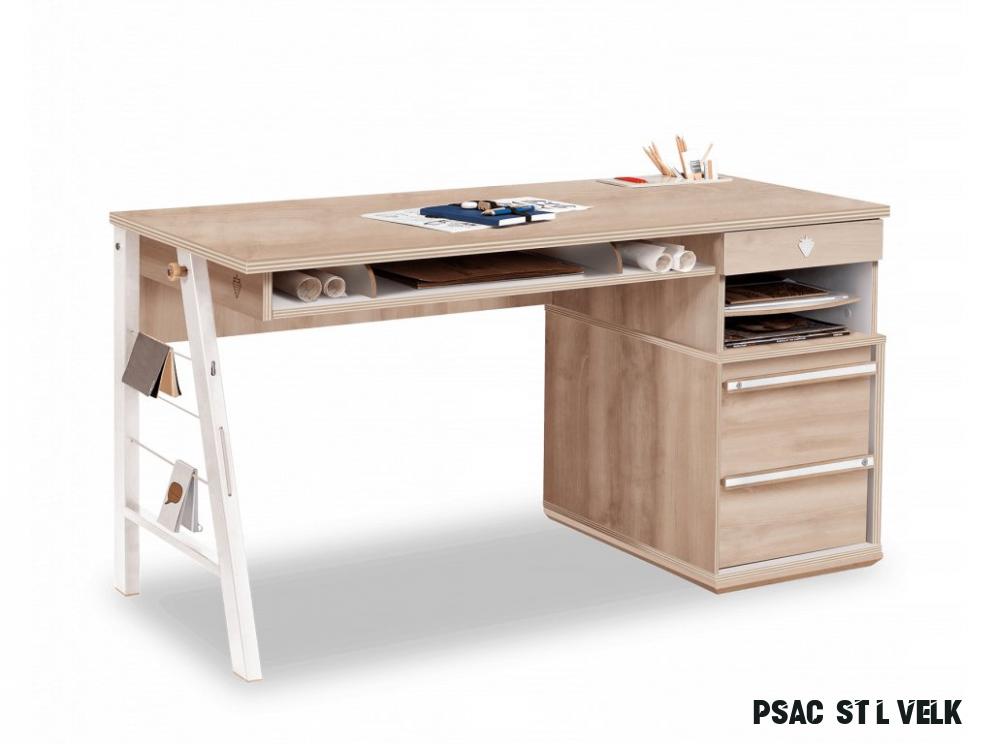 Studentský psací stůl velký Duo