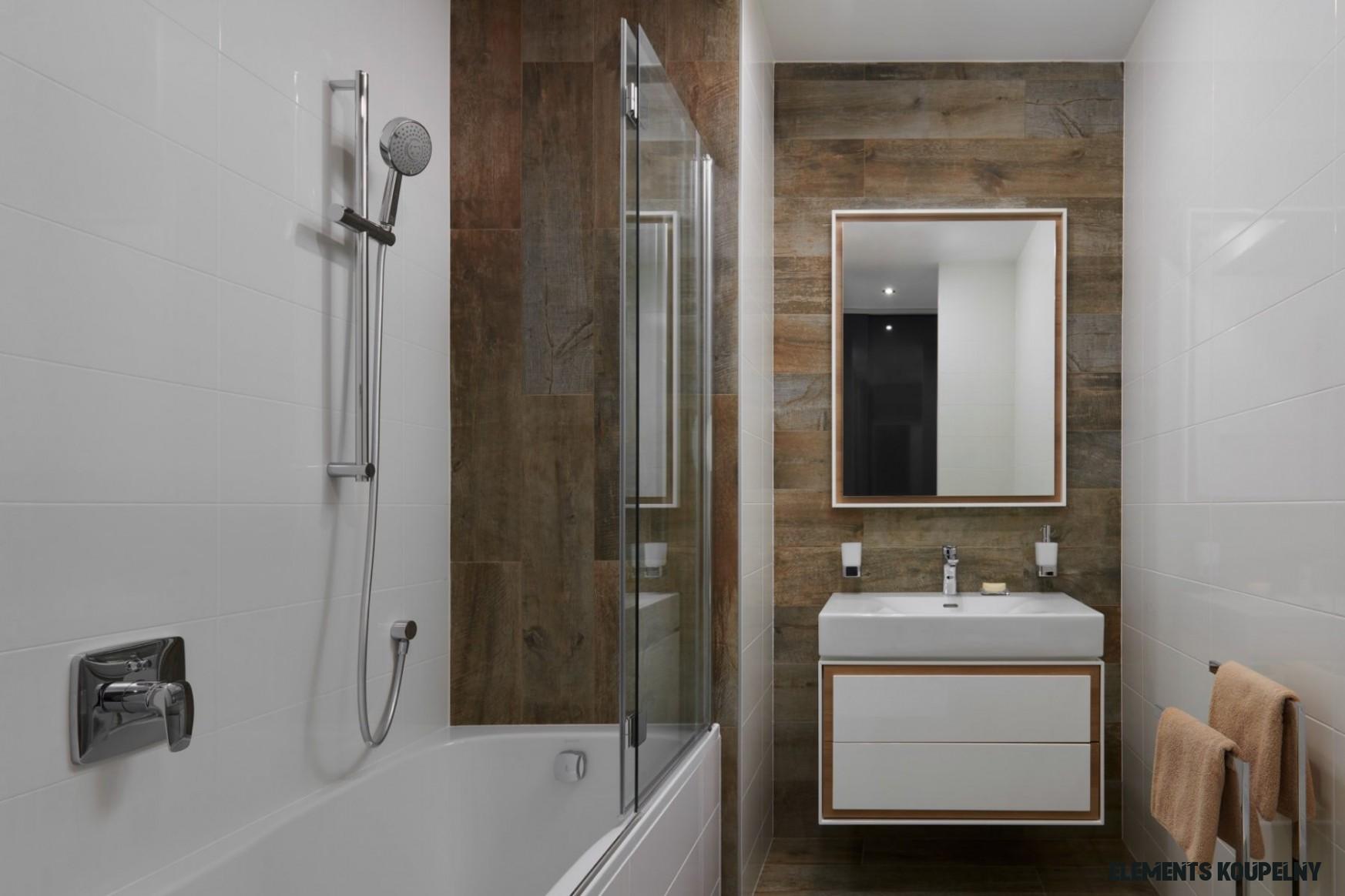 Závan Afriky do malé koupelny – Elements
