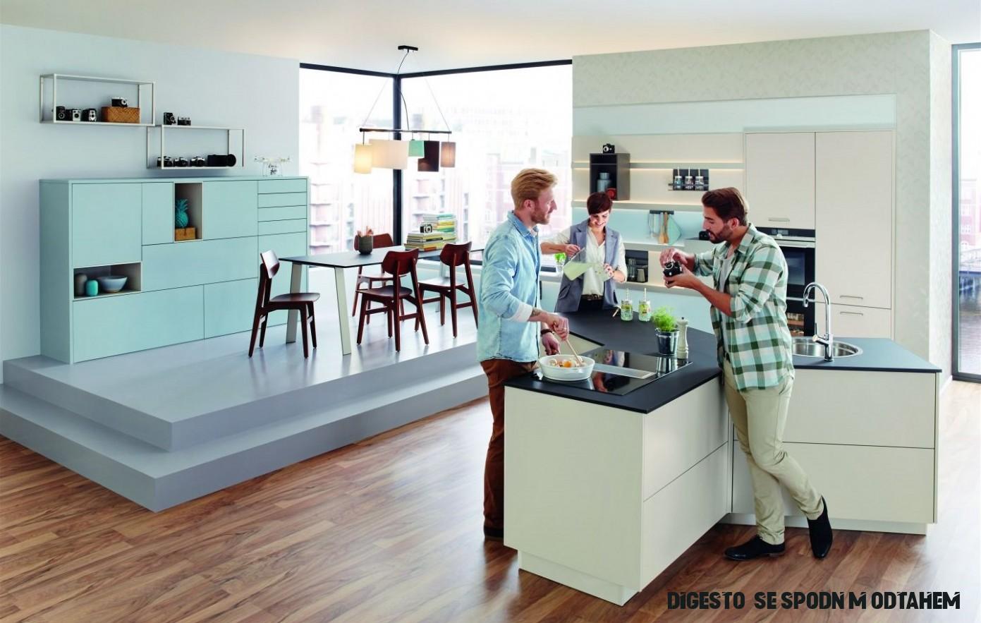 Fotogalerie: Kuchyňský ostrůvek ve tvaru písmene Y je příkladem