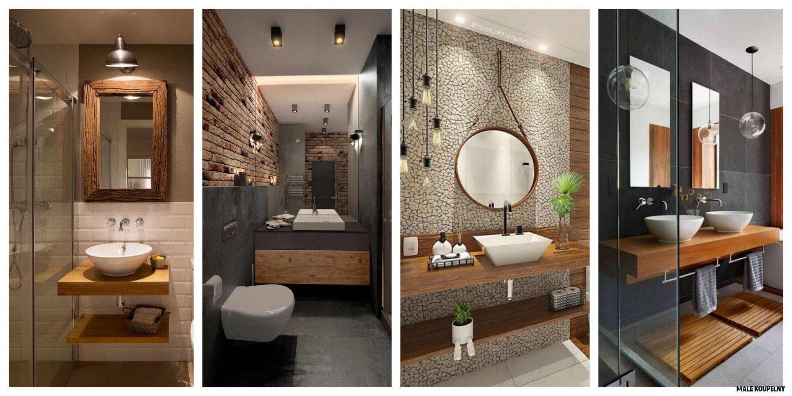 Rekonstrukce malé koupelny - inspirace, fotogalerie - Bydlení