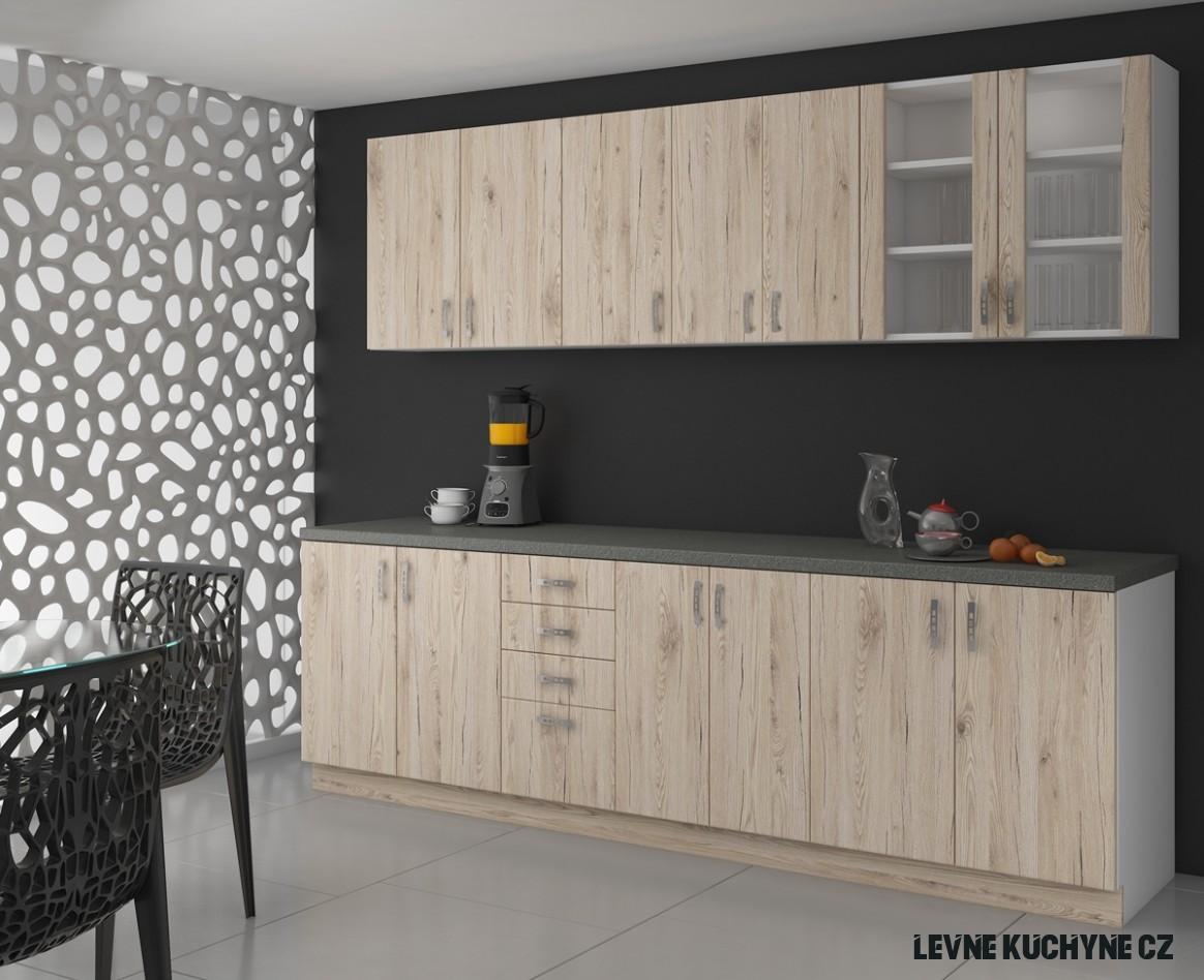 Levná kuchyně sonoma Sava 19