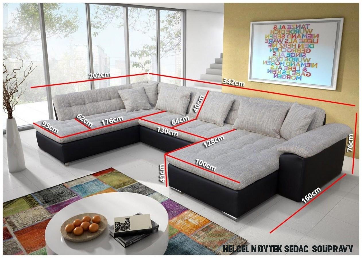 Luxusní sedací souprava Kler - TOP DESIGN 10  Sectional sofa