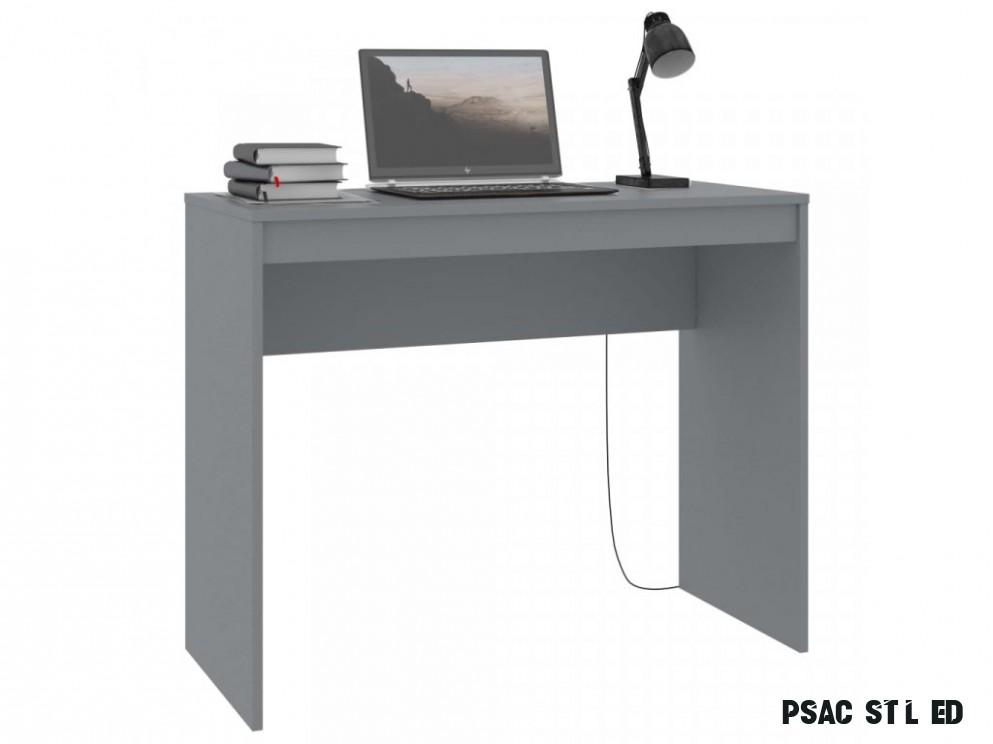 Psací stůl Claredon - šedý  9x9x9 cm - PerfektníDomov.cz