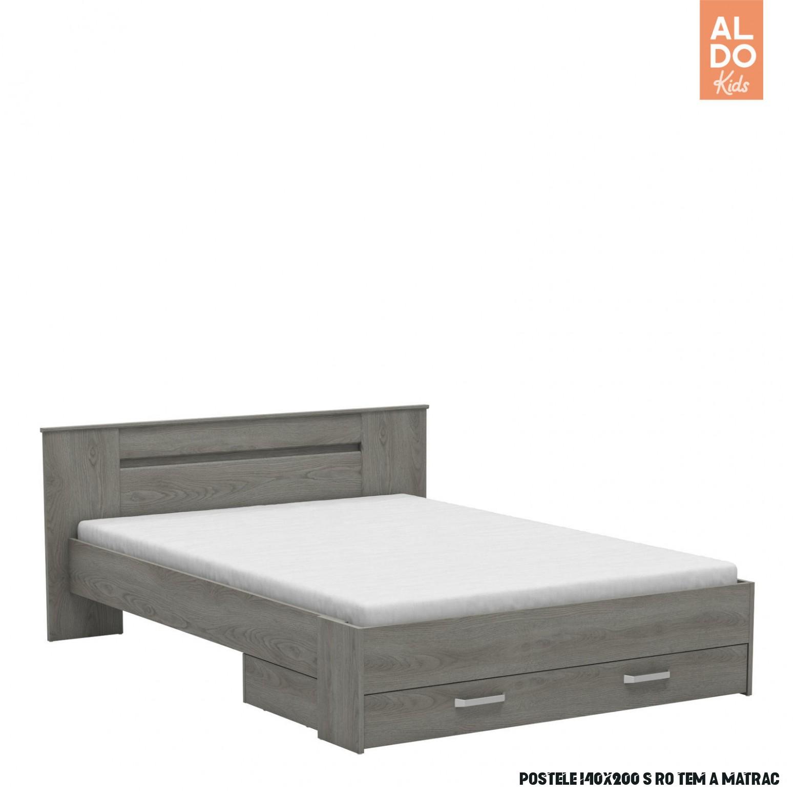 Studentská postel 19x19 s šuplíkem Divine