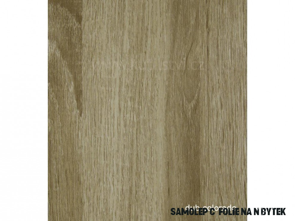 Profesionální renovační folie na dveře a nábytek - vzor Dub Colorado,  skladem posledních 12,12m a 12,12m