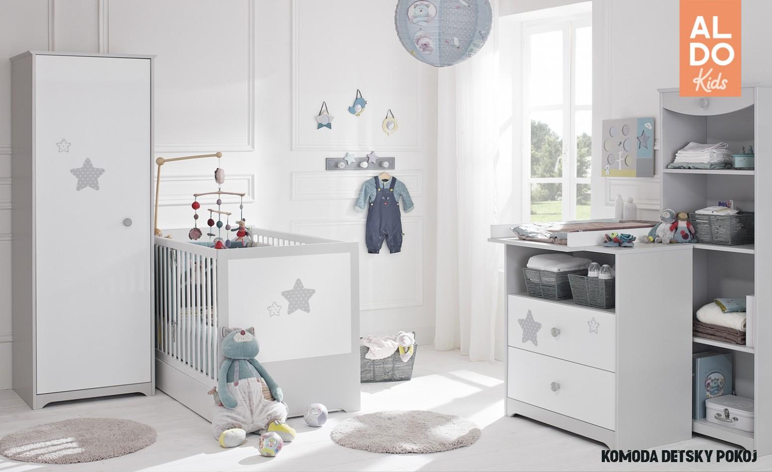 Detská izba pre bábätko až do predškolského veku Douce Nuit P8U