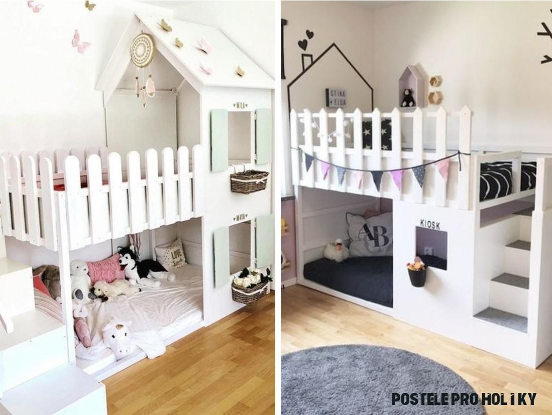 Dobrou noc a sladké sny: jak vypadá postel, do které se děti budou