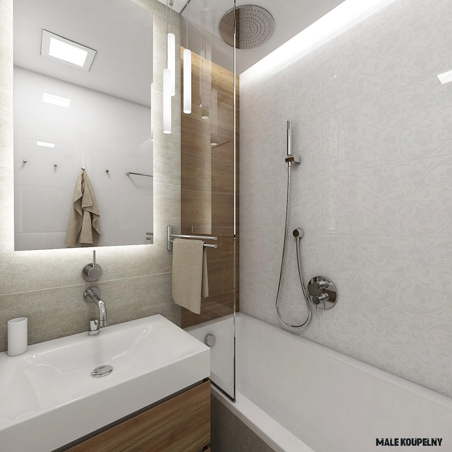 Proměna malé koupelny 20x jinak! - Proženy