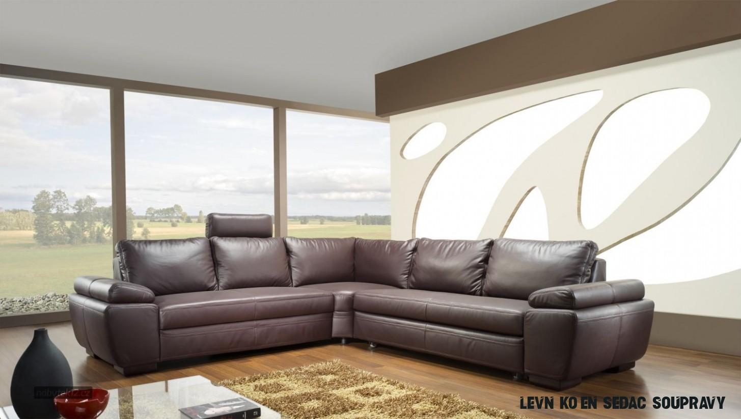 Dopřejte si luxus kožené sedací soupravy - Magazín Nábytek18.cz