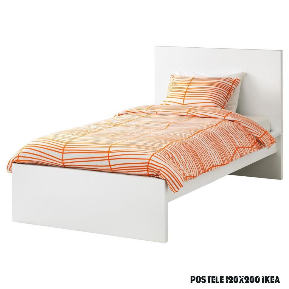 MALM Rám postele, vysoký - 6x6 cm Lonset