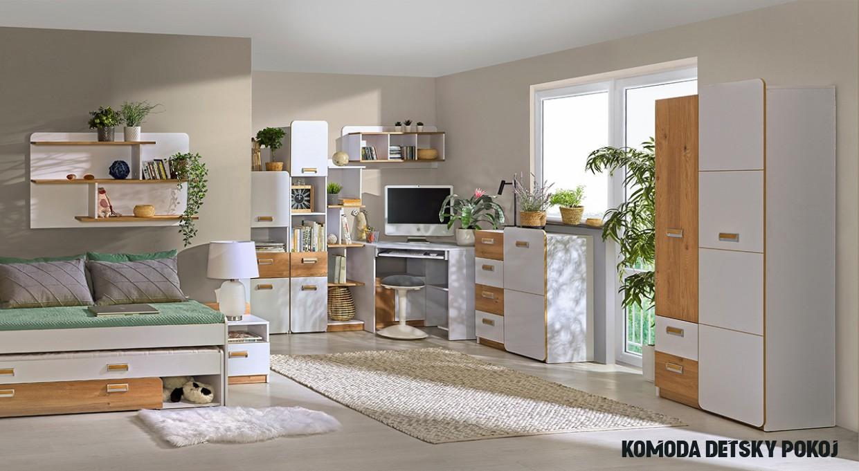 Moderný nábytok do detskej izby LORENTO 8
