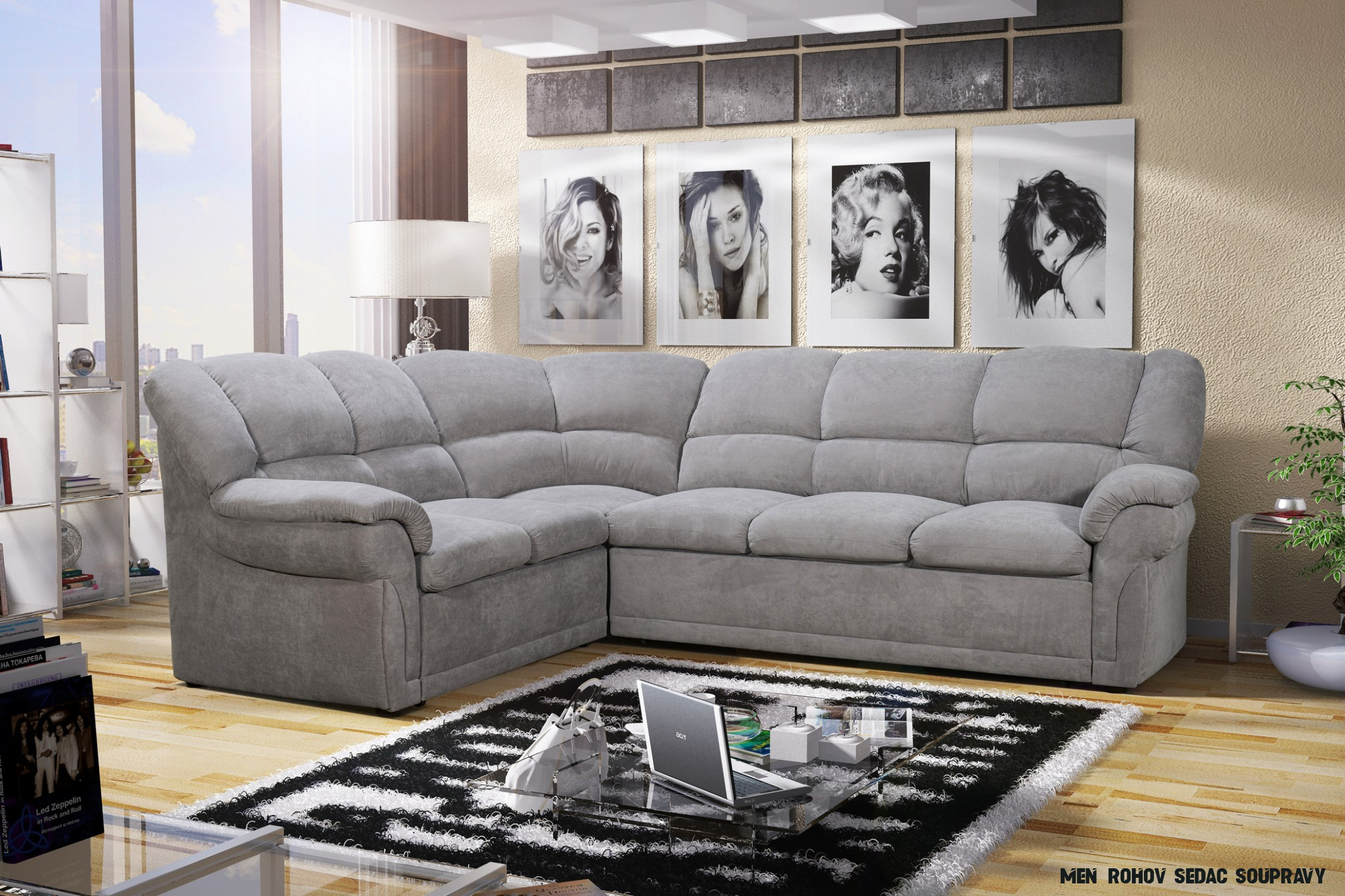Odpočinek do obývacího pokoje – pohovka nebo rohová sedačka