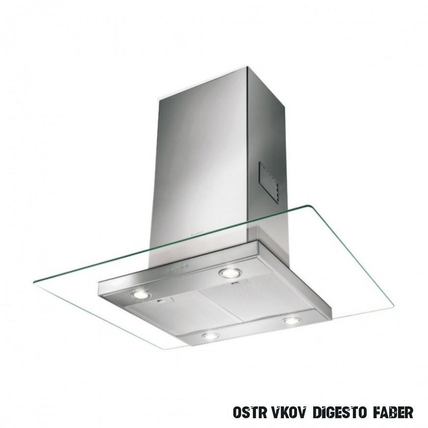 Ostrůvková digestoř Faber GLASSY ISOLA EG12 X/V A12  Dalago.cz