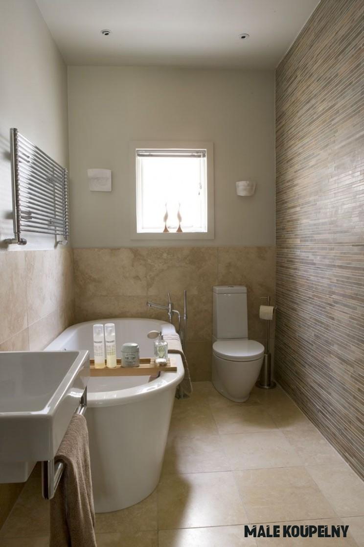 20 příkladů malých koupelen  Living.cz