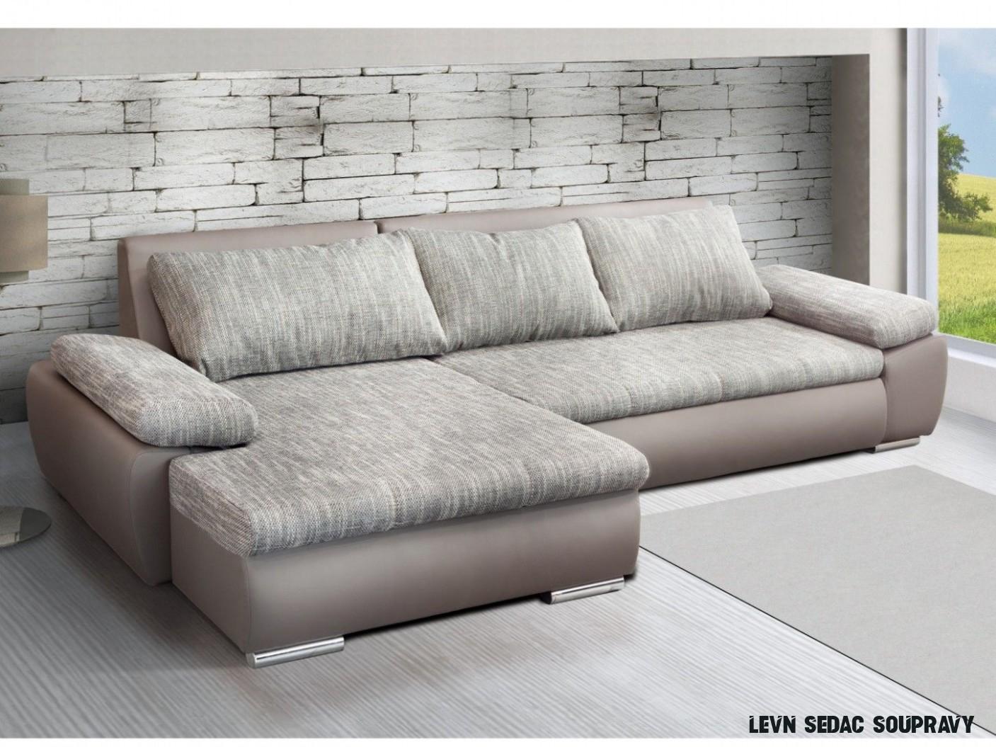 14 Nejlépe Nápady Levné Sedací Soupravy Rohové  Sectional couch