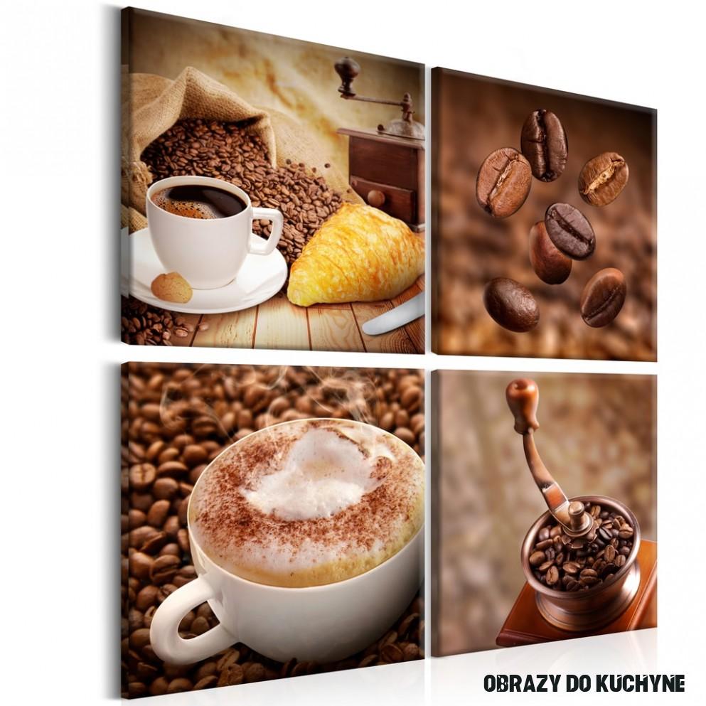 Obraz raňajky a káva - Wake up!  Dovido.sk