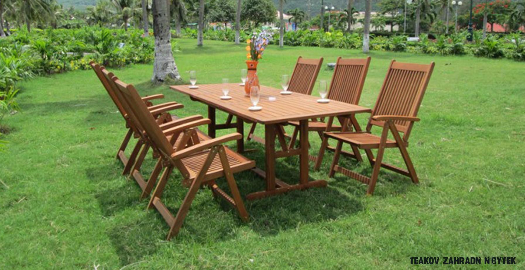 Idea z Teakový Zahradní nábytek