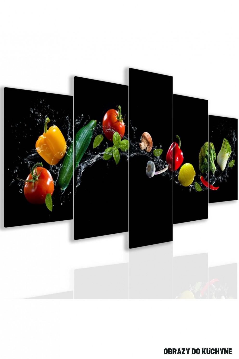 Obraz do kuchyně zelenina