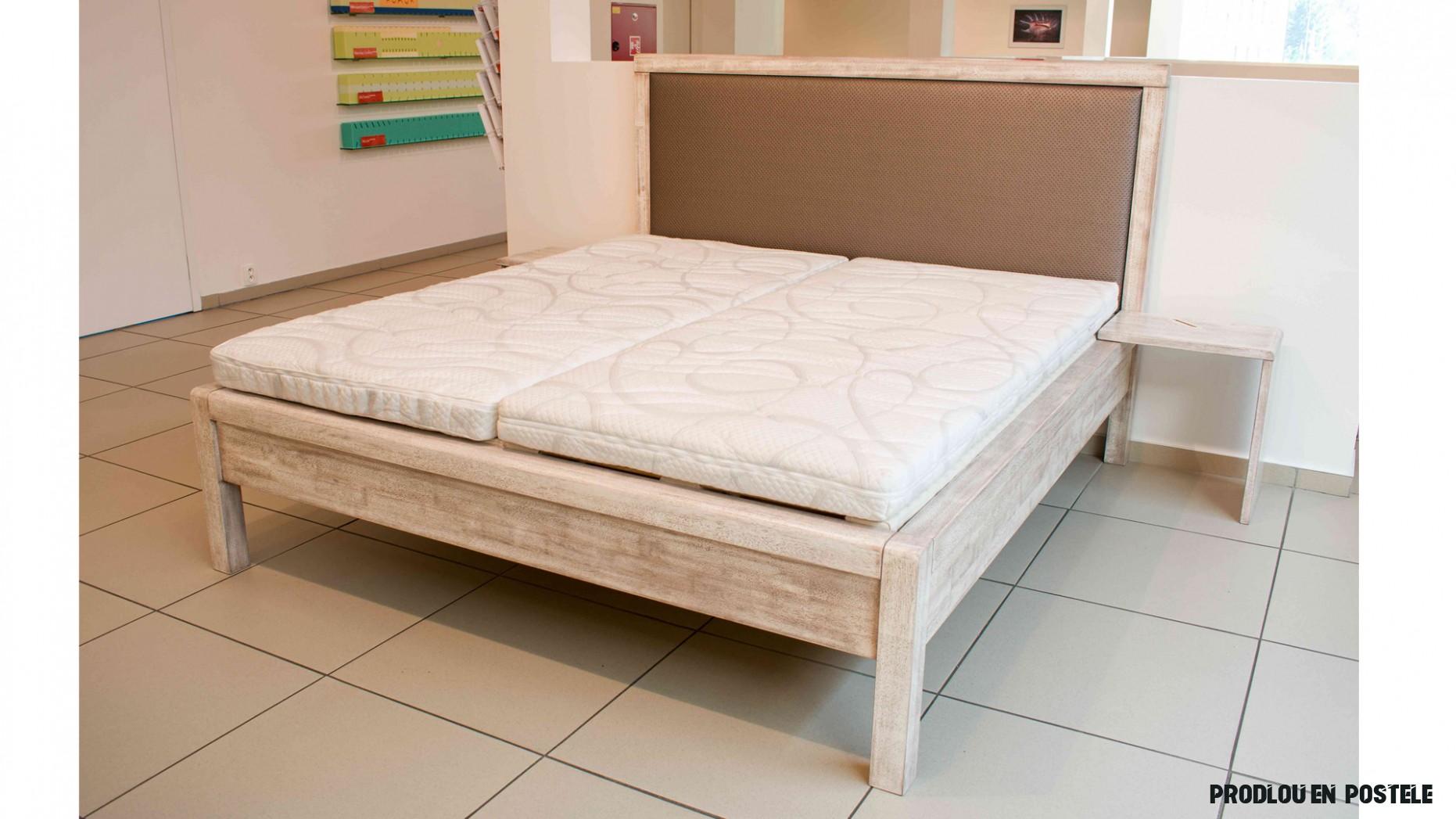 Manila postel z masivu - JMP Studio zdravého spaní