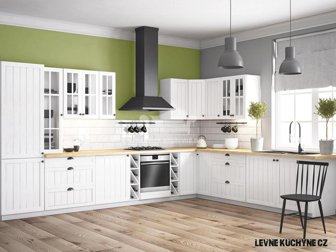 Kuchyňská linka Provence A  Levný nábytek a sedací soupravy