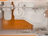 Senzacní Fotky Inspirace z Male Koupelny