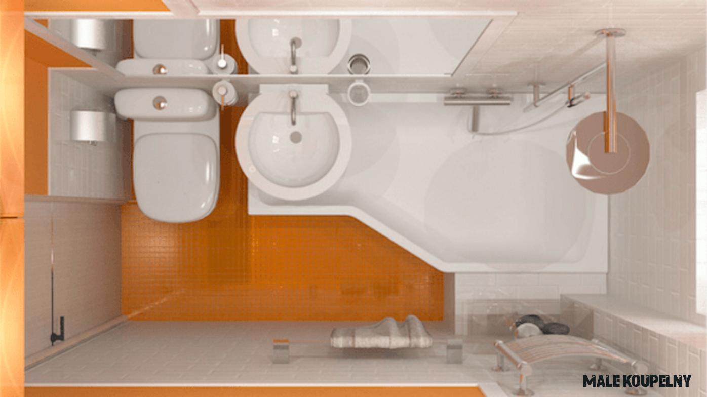 20 tipů a triků, jak si uspořádat malou koupelnu. Organizace je