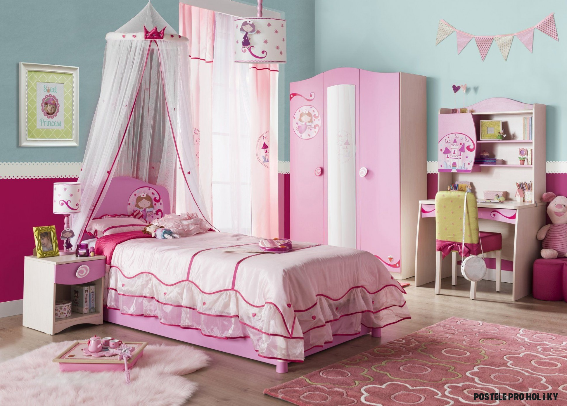 Dětský pokoj Princess je perfektním řešením dětského pokojíku