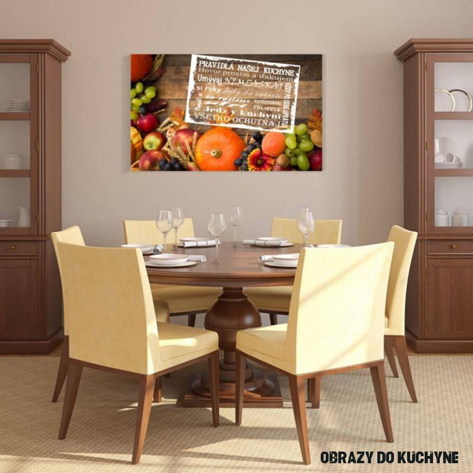 (144o14) Obraz, Pravidlá kuchyne, zátišie