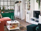 Bájecný Fotografie Ideas z Ikea Obývací Stěna