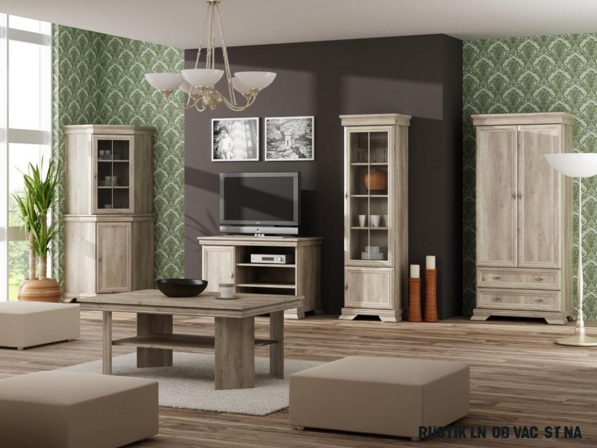 Rustikální obývací stěna Gladys 8