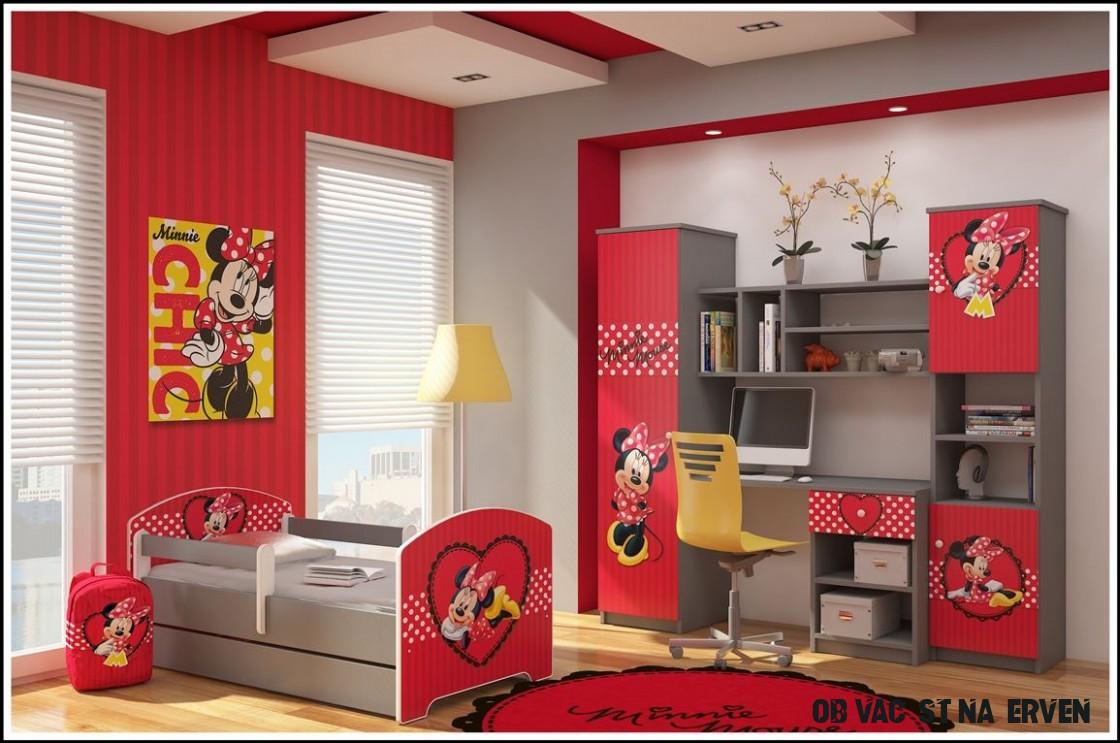 Disney Obývací stěna Minnie červená. Bambulin.cz - hračky, potřeby